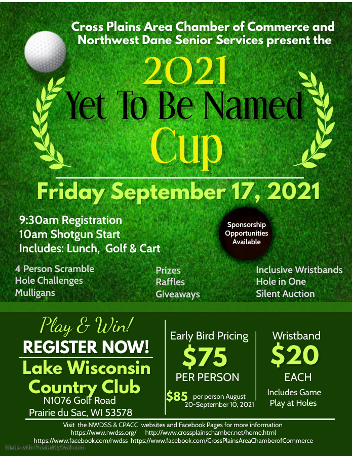 2021 Golf Outing @ Lake Wisconsin Country Club
